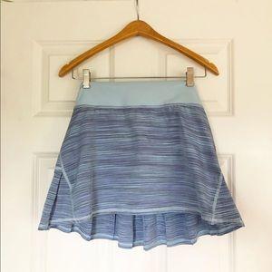 Pleated Lululemon Athletic Skirt